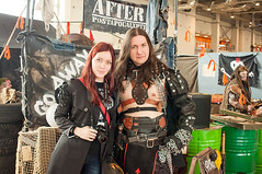 Moscow Comic Convention 2017 (horov) Tags: comicbook comics cosplay anime heroes superheroes festival games scifi sciencefiction people fun animefigures figures melkor warhammer postnuclear moscow russia makeup greasepaint fight