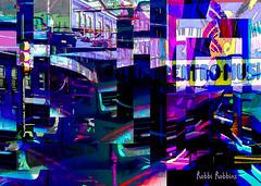 Hub Bub (brillianthues) Tags: city urban philadelphia street colorful collage photography photmanuplation photoshop