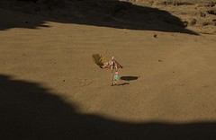 Little Sahara (bransilva) Tags: sitios imaginarios brand silva work art illustration sombrilla umbrella sun mexico arte sunday sahara desert little arena roja playa duna y su perra