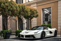 A LaF and some trees. (David Clemente Photography) Tags: ferrari laferrari ferrarilaferrari v12 joshcartu supercars hypercars cars v12ferrari nikon nikonphotography mandarinoriental
