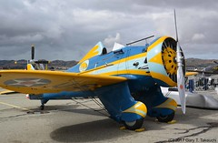 Planes of Fame Air Show 2017 - Boeing P-26A Peashooter; s/n 33-123, NX3378G (g_takeuchi) Tags: planesoffame airshow 2017 chino cno kcno airport california ca warbird warbirds plane planes airplane airplanes aircrft aviation vintage aircraft aeroplane aeroplanes airdisplay boeing p26a p26 peashooter 1899 33123 nx3378g n3378g rare flyable airworthy dsc0088c fighter pursuit