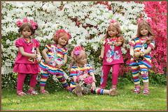 Wir wünschen, einen schönen Tag ... (Kindergartenkinder) Tags: grugapark essen kindergartenkinder blüte baum garten blume park frühling annette himstedt dolls azalee tivi milina sanrike annemoni margie