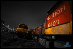 DB Cargo 6403 + 1601, Rotterdam Waalhaven 17-12-2016 (Henk Zwoferink) Tags: rotterdam zuidholland nederland db cargo dbc schenker henk zwoferink 6403 1601 photoshop waalhaven railion