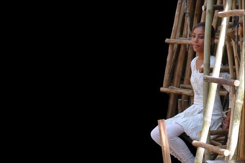India - Rajasthan - Jodhpur - Bamboo Market - The Beauty And The Bamboo