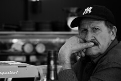 my father inlaw (goranpopovich) Tags: oldschool lunch dinner pappa portrait blackandwhite food mothersday canon eos 80d people human