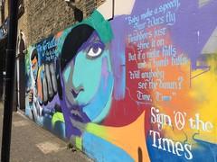 Muhammad Ali and Prince Tribute by Artful Dodger, Camberwell (Loz Flowers) Tags: london camberwell streetart artfuldodger muhammadali prince