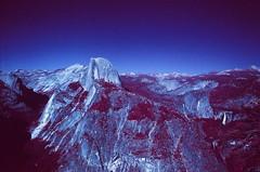 Yosemite National Park (cris_that1) Tags: yosemite national park infrared aerochrome infrachrome fpp film photography project 35mm minolta srt101 half dome