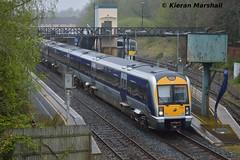 3010 departs Lisburn, 22/4/17 (hurricanemk1c) Tags: railways railway train trains translink 2017 northernirelandrailways nir caf class3000 c3k lisburn 3010 1445portadownbelfastgreatvictoriastreet