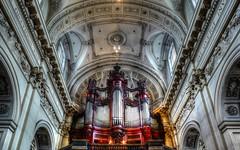 L'orgue (Yasmine Hens +4 800 000 thx❀) Tags: orgue music cieling plafond cathédrale cathédralesaintaubain namur belgium belgique hensyasmine architecture