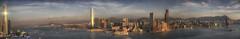 Sunrise Skyline Hong Kong (taharaja) Tags: asia boars bridges budhist china concretejungle ferriswheelrenaissancehotel harbor harbour honglomg kowloon port seafood seafront ships starferry sunrise sunset temple victoriaharbor victoriapeak skyline skyscraper