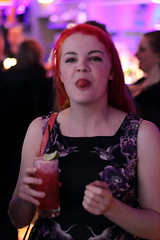 Whitby Goth Weekend: 21-April 2017: Bar Seven at Seven (amodelofcontrol) Tags: barseven whitby whitbygothweekend cocktails