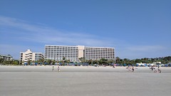 Resort from the beach (mehlam) Tags: hilton head island southcarolina sc 2017 vacation marriott resort beach
