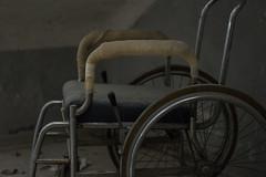 DSC_7354 (Megabarney84) Tags: nikon d3300 forlanini hospital ospedale abbandonato abandoned italy italia roma rome lazio wheelchair sedia rotelle degrado