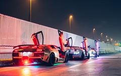 Only in Japan. (Alex Penfold) Tags: lamborghini murcielago supercars supercar super car cars autos alex penfold 2016 japan tatsumi lights neons modded
