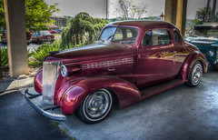 1948 Chevrolet Business Coupe (donnieking1811) Tags: tennessee pigeonforge automobile car classiccar 1948 chevrolet businesscoupe antique hdr canon 60d