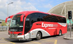Bus Eireann VE17 (152D23657). (Fred Dean Jnr) Tags: buseireann volvo b11r sunsundegui sc7 ve17 152d23657 parnellplacebusstation cork may2017 expressway buseireannroute51