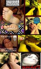 Feet neck snap kill fetish 01 (deathgoddess66) Tags: necksnap footfetish neckbreakkill maturefeet