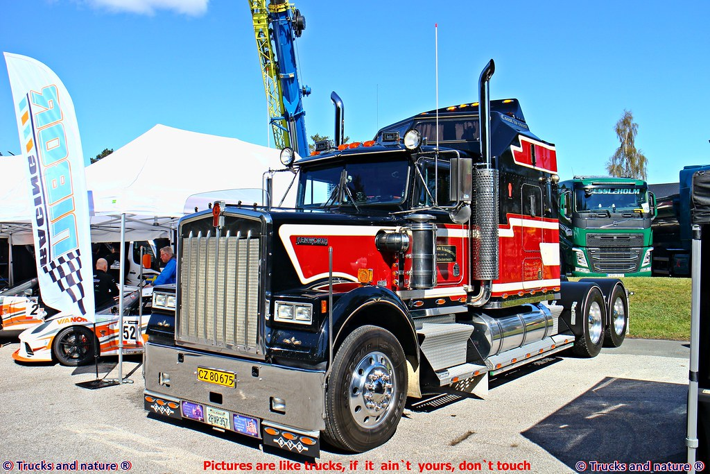 Chrome Stacks For Semi Trucks : The world s best photos of kenworth and w flickr hive