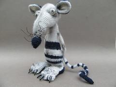 Splinter (mmarple62) Tags: amigurumis petitrat crochet tricot splinter handmade faitmain