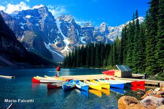 Canada: Banff National Park: Lake Moraine