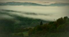 E' l'alba, sulle Langhe... (civetta delle nevi) Tags: paesaggio nebbia fog landscape langhe italy