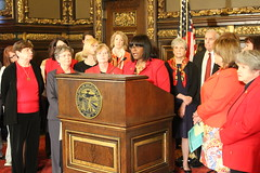 DFL Women with Gov. Dayton and Lt. Gov. Smith, May 11