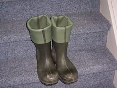 DUNLOP Purofort 385 (stevelman14) Tags: dunlop purofort donkergroengroen laarzen omgeslagenbovenstuk schoon indoor