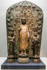 Standing Amida Nyorai (Amitabha) and 2 Attendents, Kamakura period, 13th century (Anita Pravits) Tags: 13jahrhundert 13thcentury amidanyorai amitabha bronze honkan japan japanesegallery kamakuraperiod nihon nippon tnm tokio tokyo tokyonationalmuseum