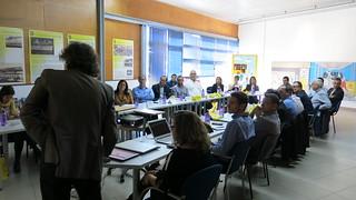Noviembre 2016.  Presentación de MetroGuagua en Comisión de Nuevas Tecnologías y Marketing de ATUC