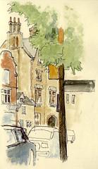 Teaching at Cambridge University: Tiny House on Trumpington Street, 13th May 2017