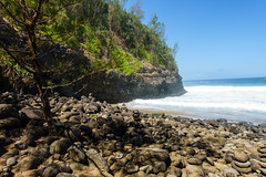Kaui 229 DSC03738 (cpburt) Tags: kauai hawaii napalicoast kalalautrail hanakapiai beach