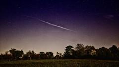 Nachts in Feld und Flur . . . (norbert.r) Tags: 20mm blue dark flickrchallengegroup galaxy gx80 himmel landscape lumix milkyway nature night sky space starfield