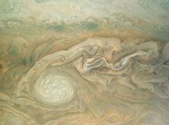 Jupiter's Little Red Spot (NASA's Marshall Space Flight Center) Tags: nasa marshall space flight center msfc jet propulsion laboratory jpl solar system juno jupiter