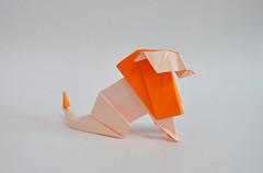 Lion BWE - Hideo Komatsu (halogenandtoast) Tags: origami hideokomatsu