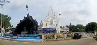 St. Mary's Lourdes Church, Chowka, Elinjipra 1