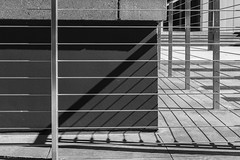 Enclosure (Kool Cats Photography over 8 Million Views) Tags: architecture blackandwhite monochrome abstract patterns tectures