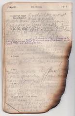 5-11 Apr 1915 (wheresshelly) Tags: ww1 wwi world war 1 australia gallipoli egypt military australian 4th field ambulance anzac morton wilfred