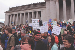 trump is the hoax (FADICH PHOTOGRAPHY) Tags: science march themarchforscience 2017 april earthday earth day lisaparshley activism protest olympia washington environmentalism gogreen clean energy vote womenofscience climatechange climate change global warming poverty war drought resourcescarcity