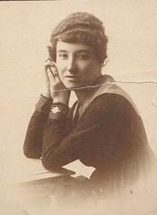 Portrait of a Lady (Bury Gardener) Tags: women woman female people portrait girl oldies old sepia blackandwhite bw england english lady