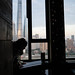 Shanghai Skyline View & Silhouette -  Hotel Indigo - Shanghai, China