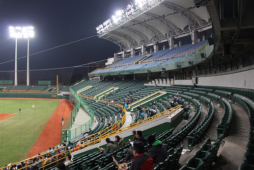 高雄澄清湖棒球場 Kaohsiung Chengcing Lake Baseball Stadium