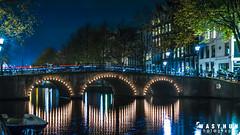 Amsterdam_bridge_night_30.10.2016 (wasyhun Asefa) Tags: night bridge amsterdam long exposure city canon 70d light painting
