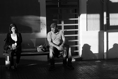 Ghost of you (alejo.365shoots) Tags: street photography people man woman bw 365