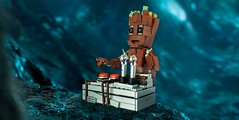 I am Groot! (roΙΙi) Tags: iamgroot babygroot guardiansofthegalaxy lego afol marvel groot