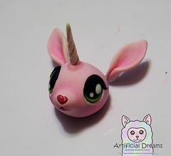 Granate Sirope WIP (Craia) Tags: artificial dreams handmade unicorn art doll plush poseable artist cute kawaii fur stuffed animal craia manga resin polyurethane