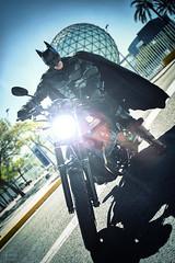 Batman is coming (NerobFotografia) Tags: batman cosplay brucewayne photoshoot sesiondefotos dccomics batmancosplay nerobfotografia moto batmovil