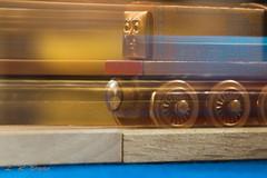 "Macro Mondays ""Intentional Blur"" (leahbryan1) Tags: ohio macro macromondays trains blur toy"