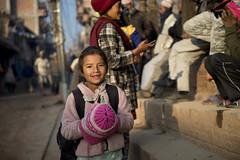 NPL - Nepalese girl - Bhaktapur (VesperTokyo) Tags: katmandu kathmandu asia nepal nepalese ネパール人 girl bhaktapur