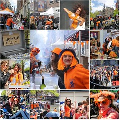 Smile and party on King's day! (B℮n) Tags: fdsflickrtoys best collection mosaic creation finest collage party boat girls boys fun wester westerkerk westertoren church dancing dance koningsdag kingsday street festival water prinsengracht orange oranje holiday willem alexander maxima amsterdam holland netherlands celebration jordaan kingdom dutch straat feest market trendy crowded free canals people floating beer amstel heineken feestdag mokum grachtengordel panden carnaval gezellig 26april national king singing music muziek dansmuziek swing colors smoke kiss kissing event outdoor 50faves topf50