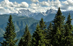 Watzmann and Hochkalter (Michael Keyl) Tags: mountains berge alpen alps bayern bavaria inzell bayerischealpen outdoor hiking wandern watzmann